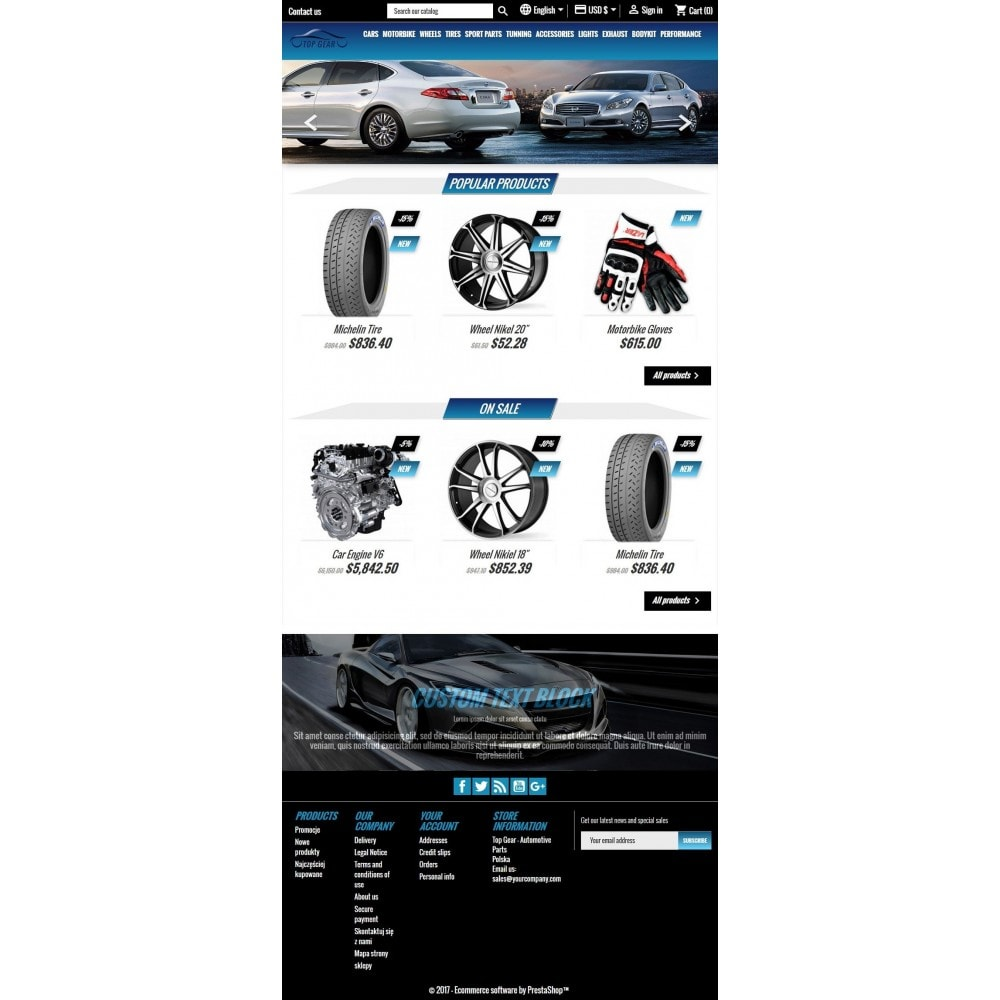 theme - Auto & Moto - Top Gear - Automotive Parts - 5