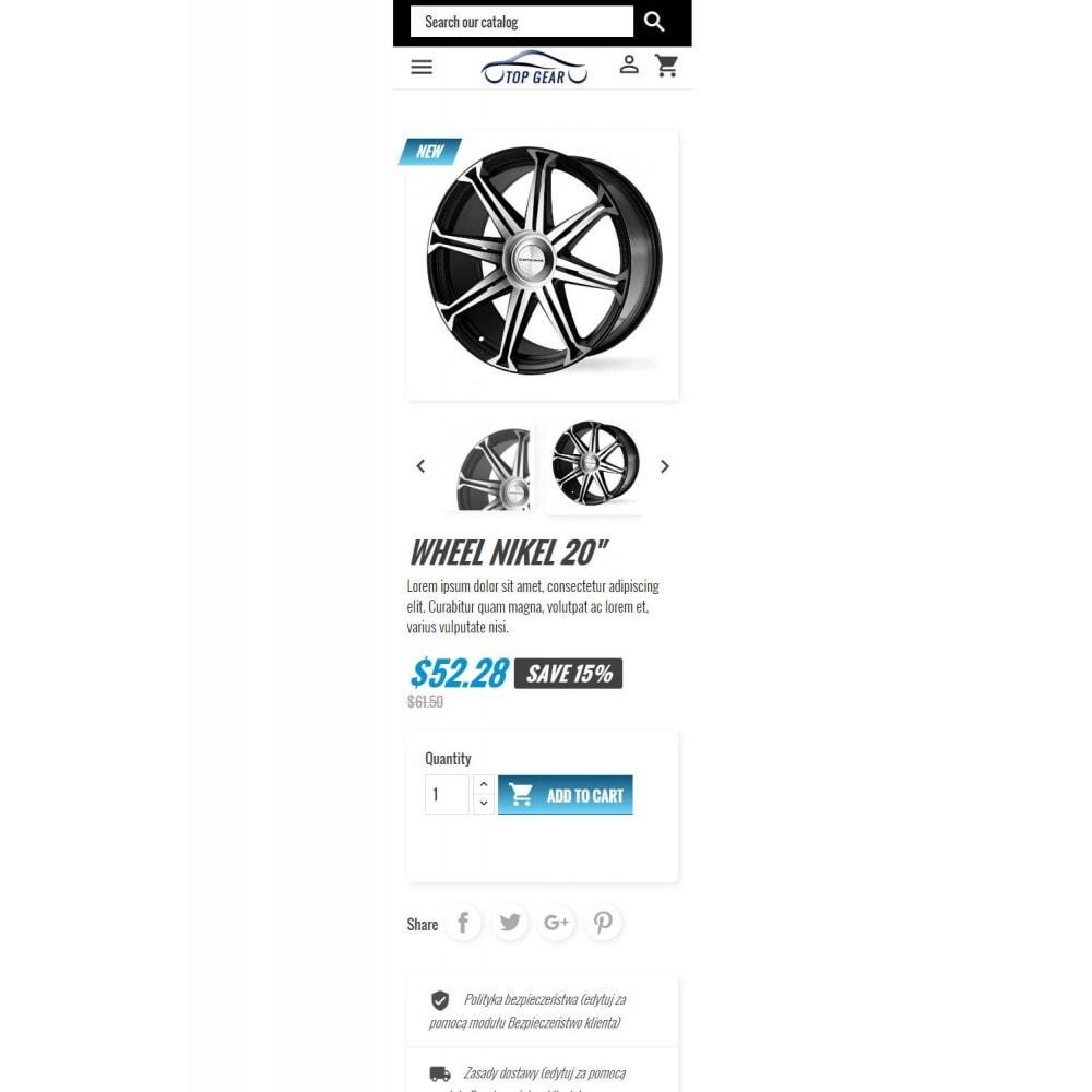 theme - Samochody - Wysoki Bieg - Części motoryzacyjne - 8