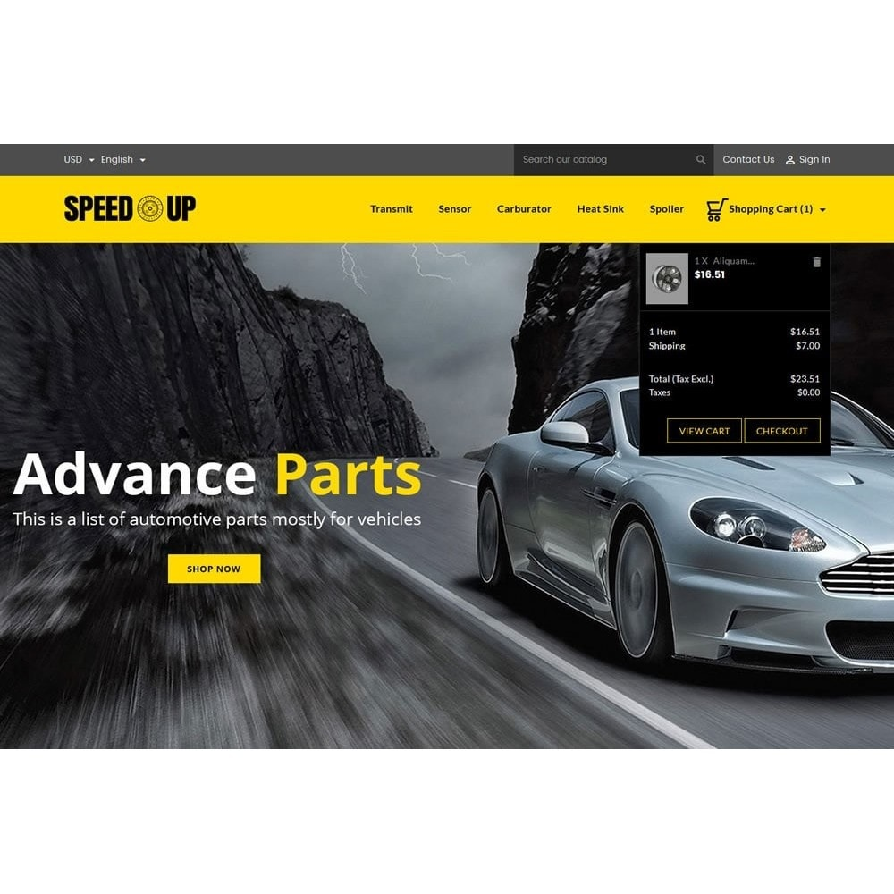 theme - Carros & Motos - SpeedUp Auto Store - 7