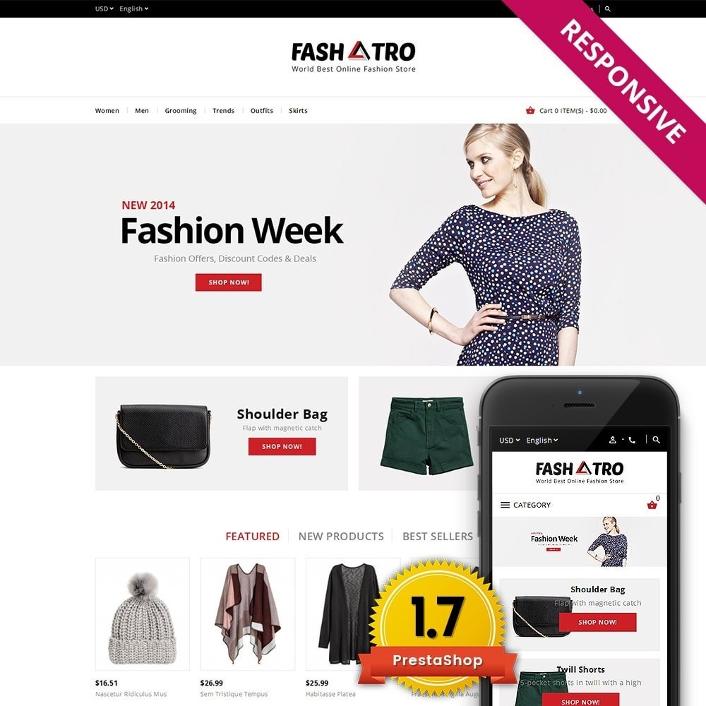 theme - Mode & Schuhe - Fashtro - Online Fashion Store - 1