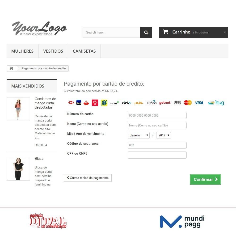 module - Pagamento por cartão ou por carteira - Mundipagg - 5