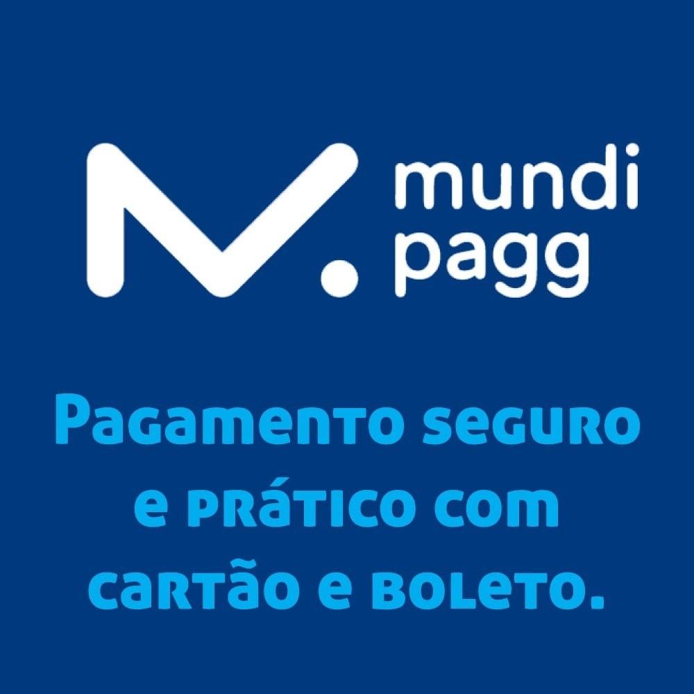 module - Płatność kartą lub Płatność Wallet - Mundipagg - 1