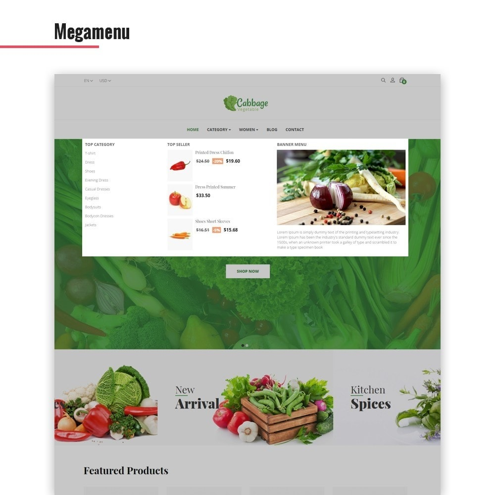 theme - Lebensmittel & Restaurants - Leo Cabbage - 4