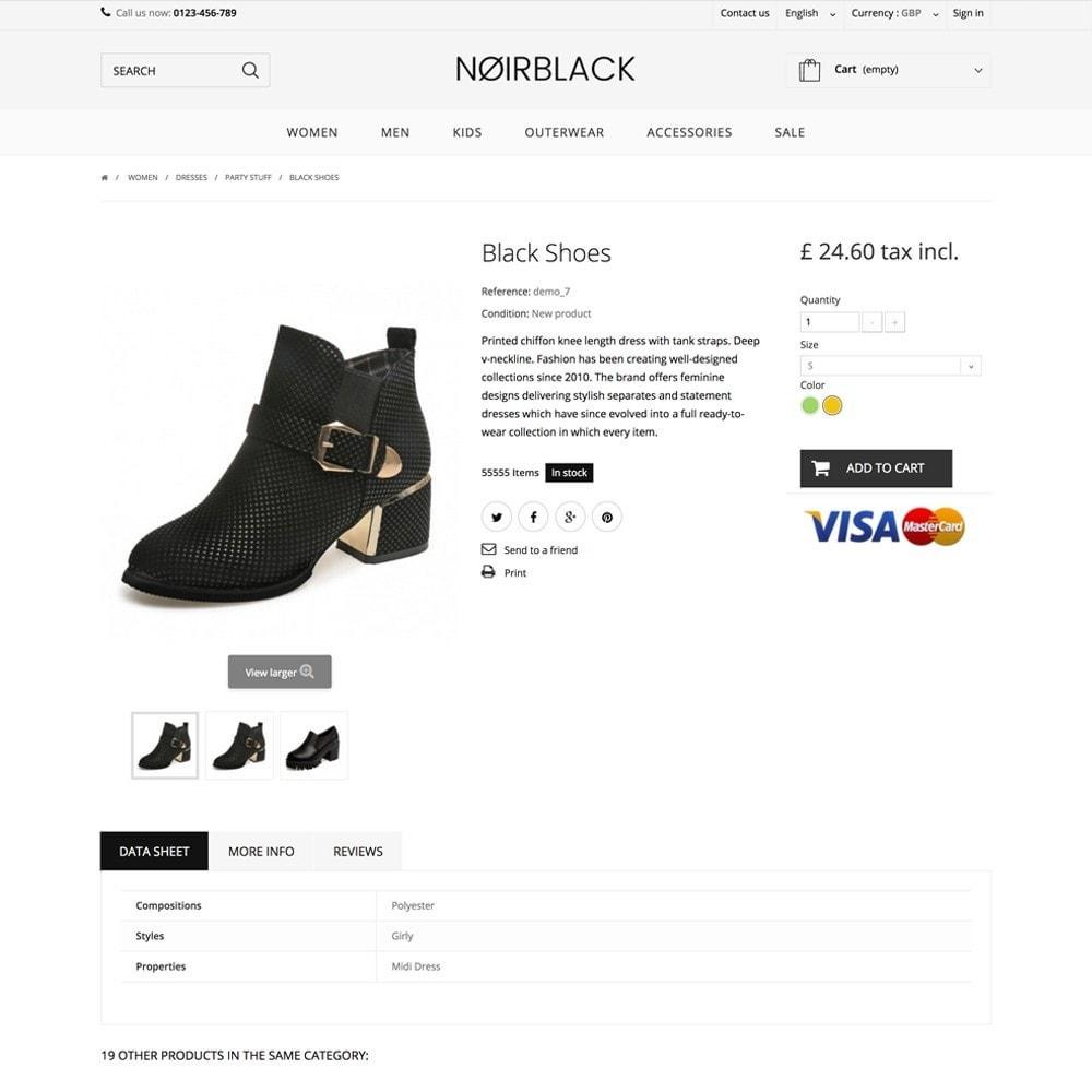 theme - Мода и обувь - NOIRBLACK - 3
