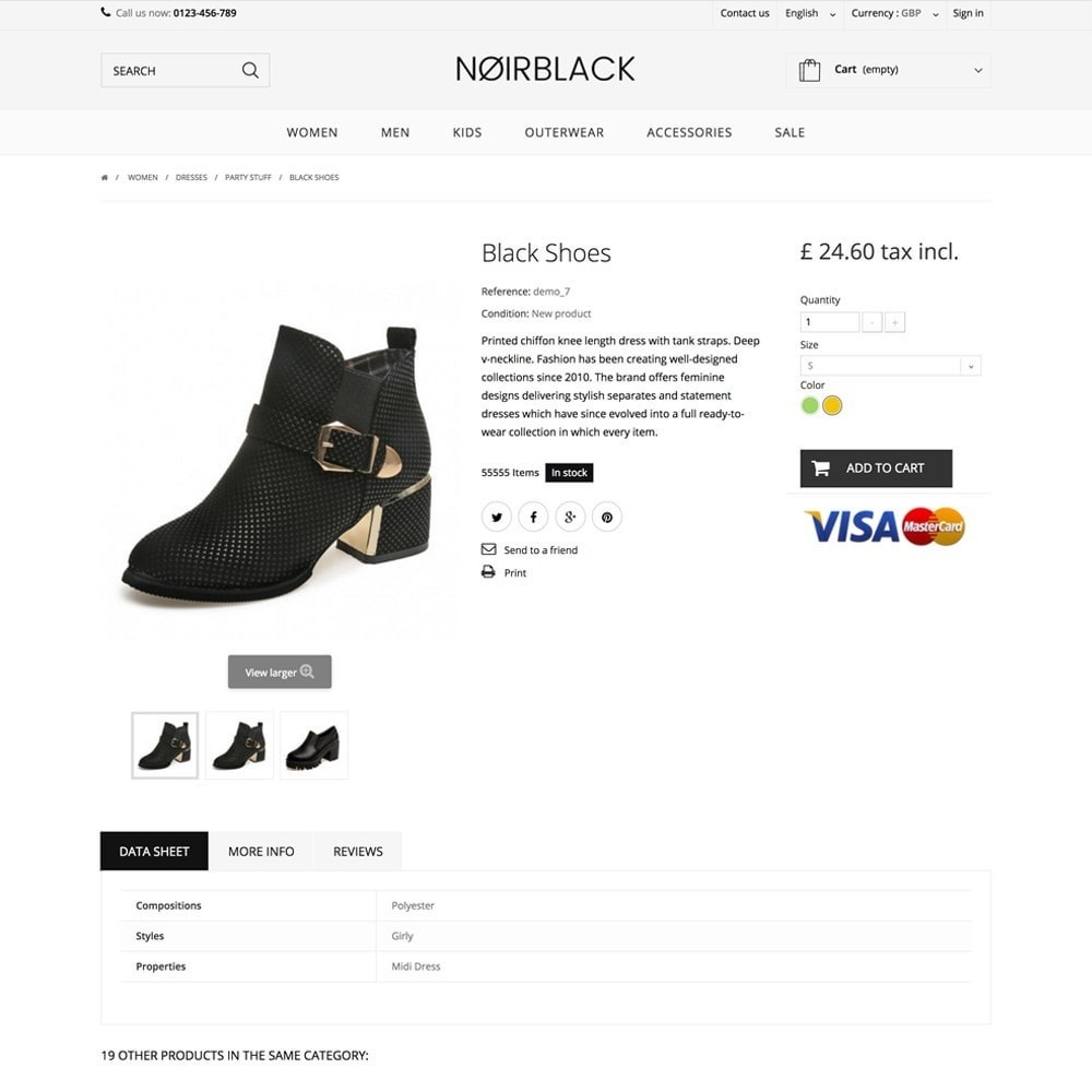 theme - Mode & Schuhe - NOIRBLACK - 3