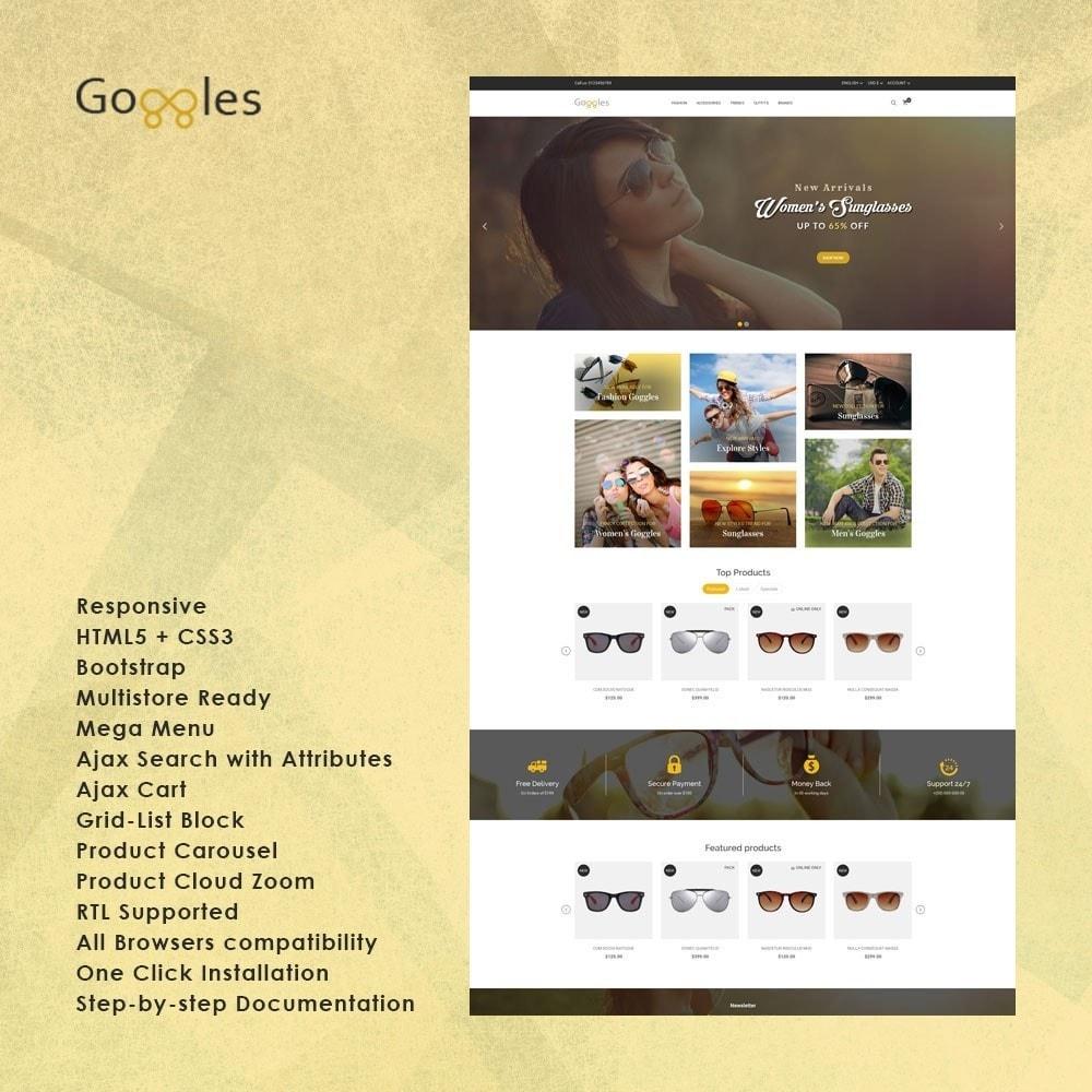theme - Moda & Calçados - Goggles Store - 1