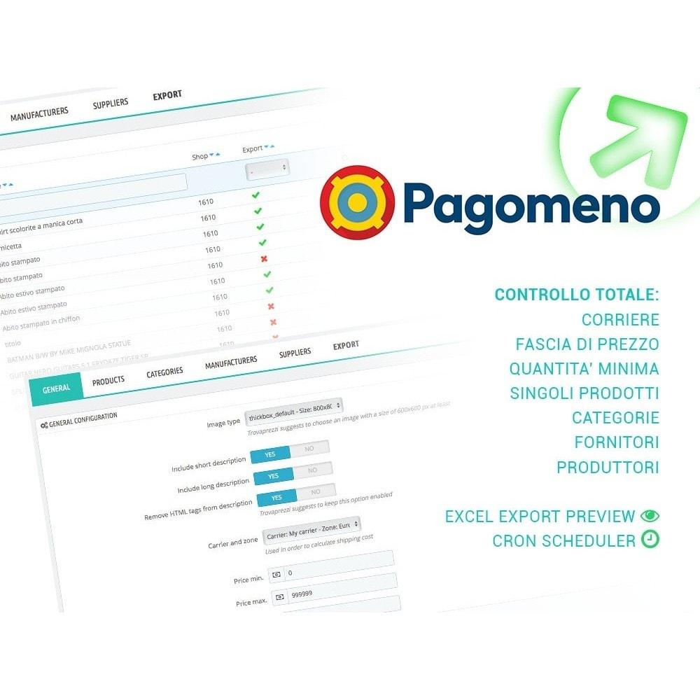 module - Comparatori di prezzi - Esporta Prodotti per Pagomeno con filtri avanzati - 1