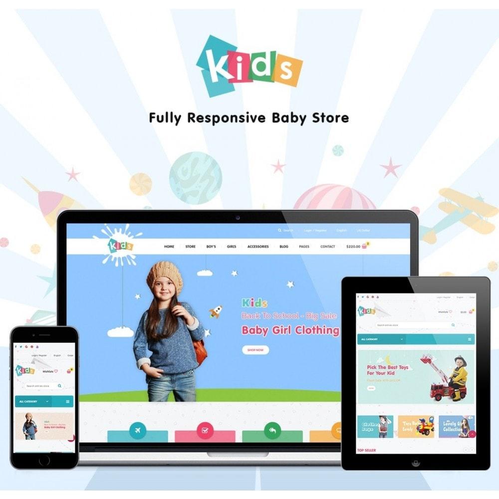 theme - Crianças & Brinquedos - JMS Kids - 1