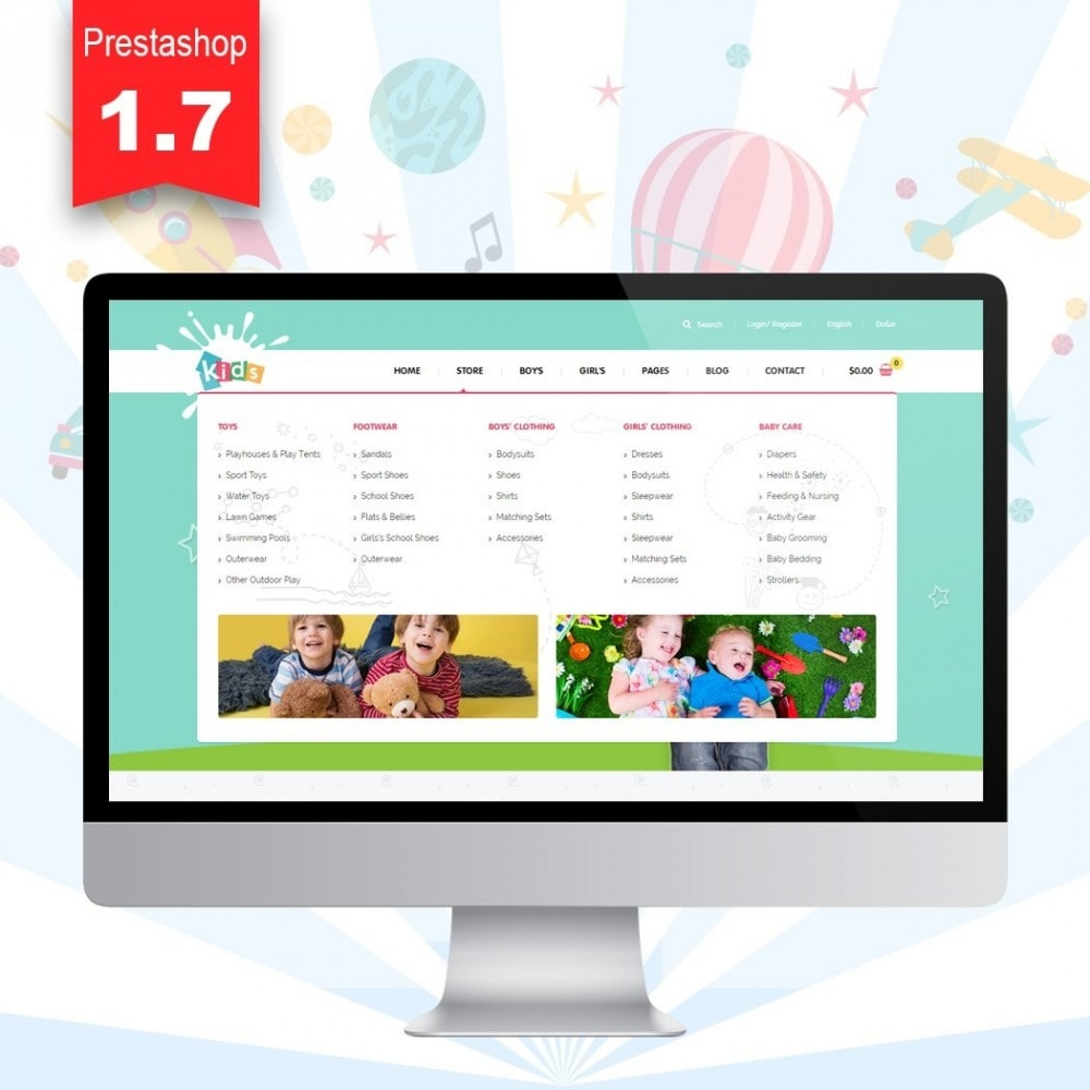 theme - Crianças & Brinquedos - JMS Kids II - 2