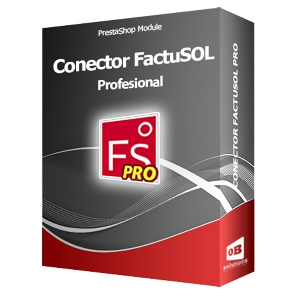 module - Third-party Data Integration (CRM, ERP...) - Professional FactuSOL Connector - 1