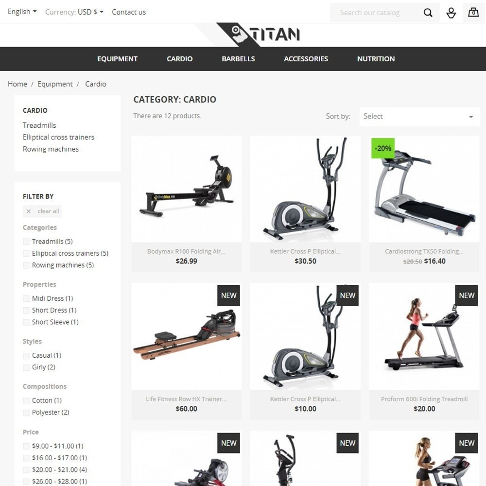 theme - Sports, Activities & Travel - Titan - 4