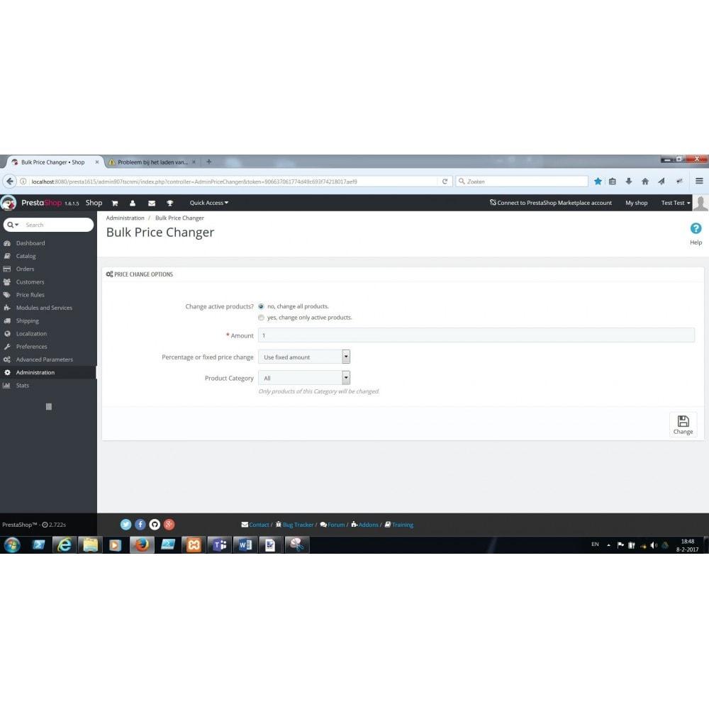 module - Zarządzanie cenami - Bulk Price Changer - 1