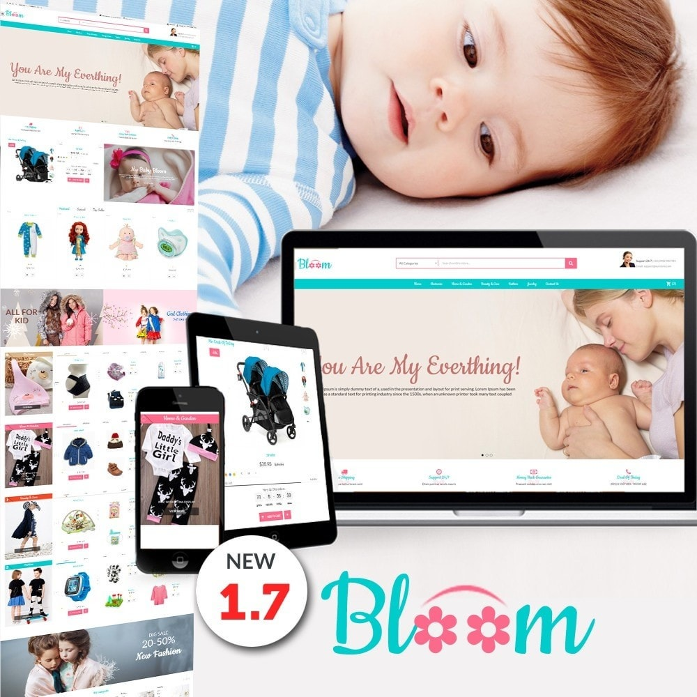 theme - Kids & Toys - MomBaby Kids Store - 1