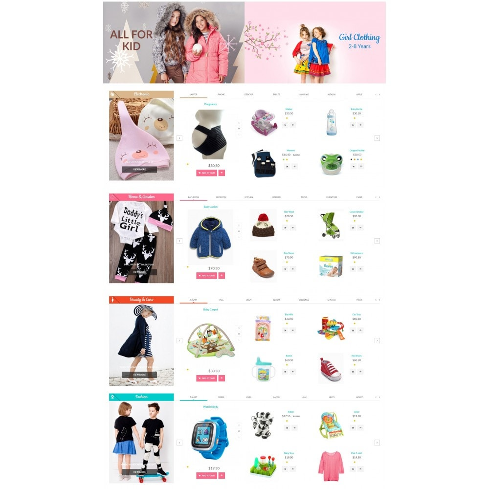 theme - Kids & Toys - MomBaby Kids Store - 4