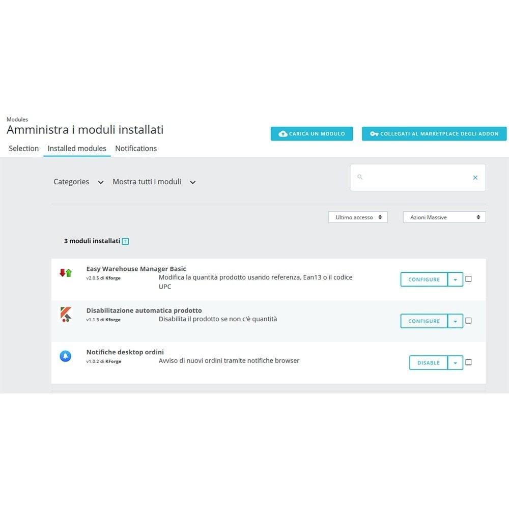 module - Email & Notifiche - Notifiche desktop ordini - 3