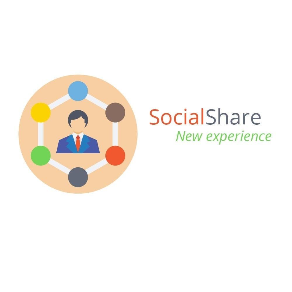 module - Compartir contenidos y Comentarios - Redes Sociales - 1