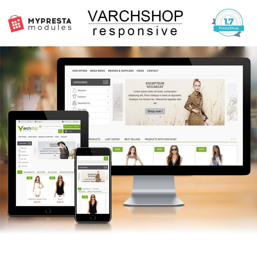 theme - Fashion & Shoes - Varchshop Lite - 1