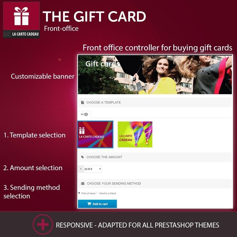 module - Wishlist & Gift Card - The Gift Card - 1
