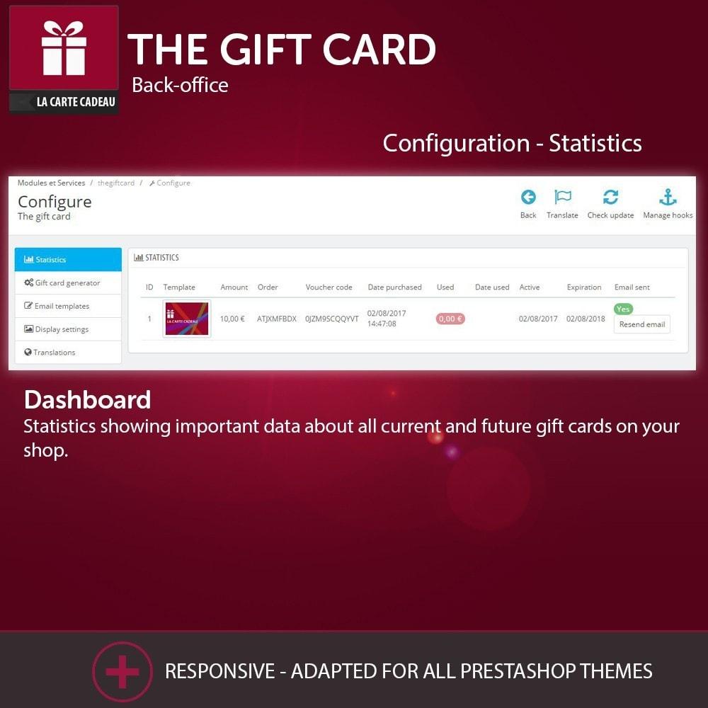 module - Lista de deseos y Tarjeta regalo - The Gift Card - 4