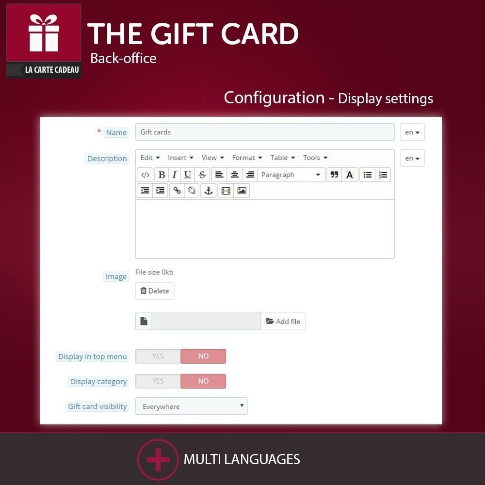 module - Wishlist & Gift Card - The Gift Card - 6