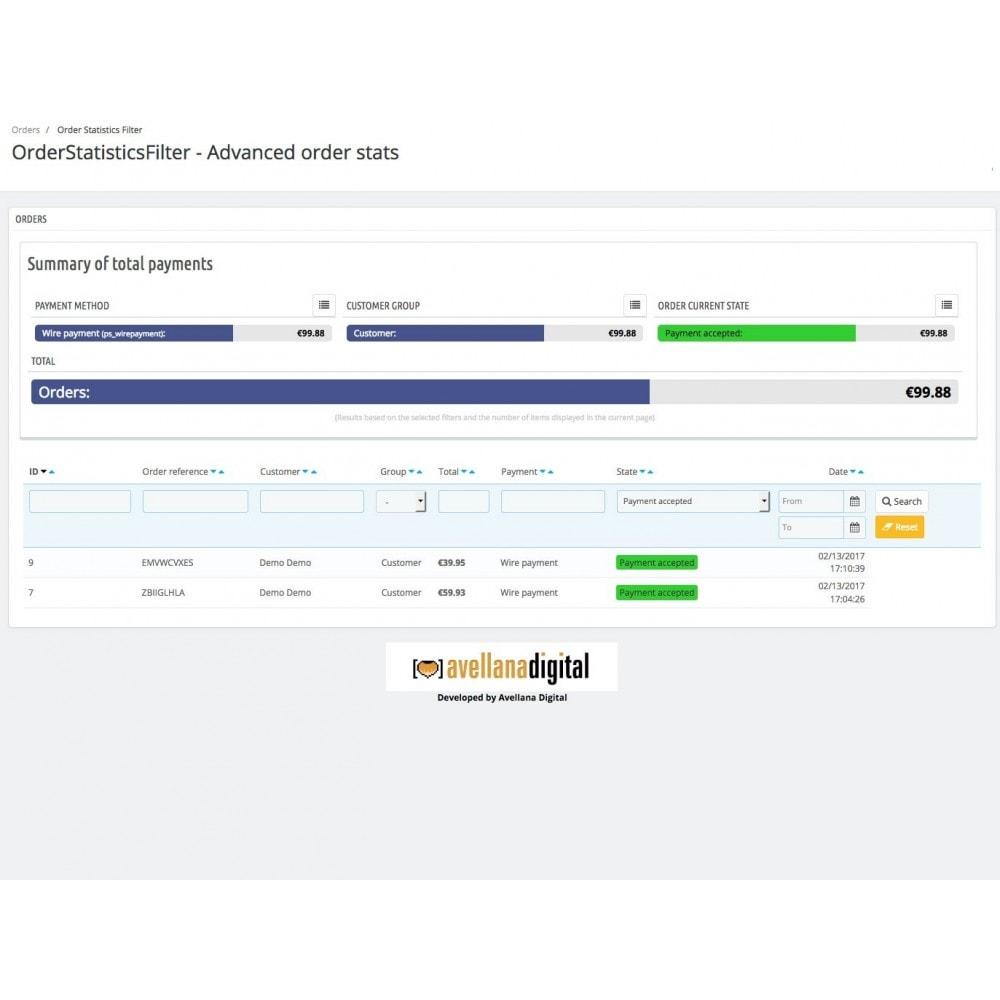 module - Análises & Estatísticas - Order statistics filter - 3