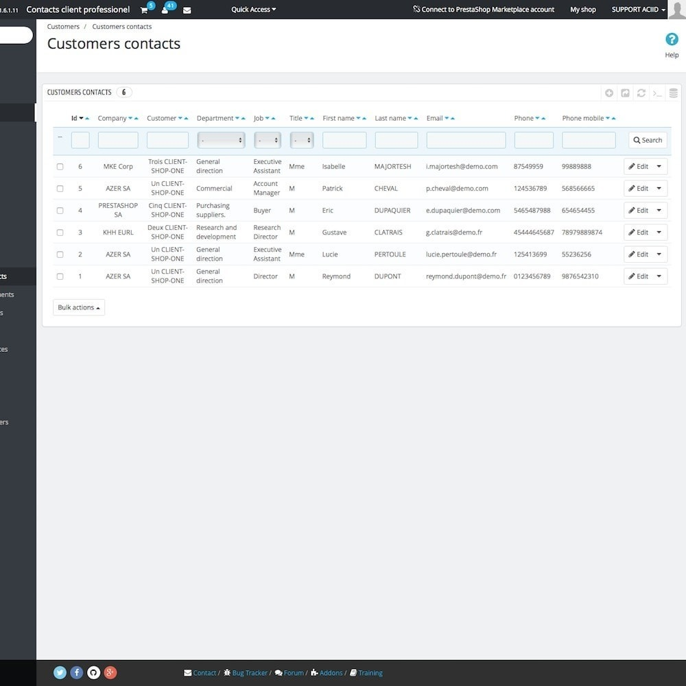module - B2B - Business customer contacts - 4