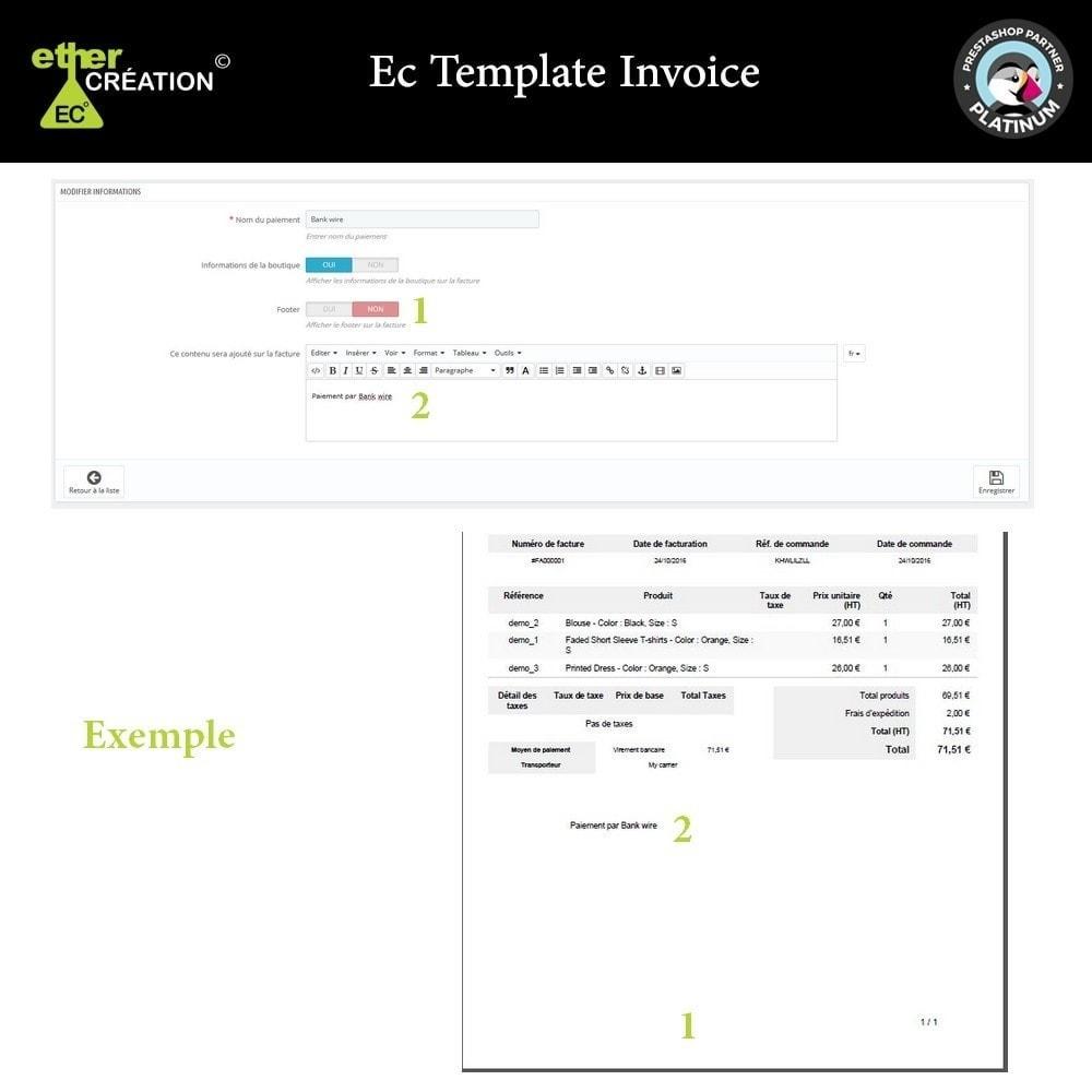 module - Comptabilité & Facturation - Gérer les factures en fonction des sources de vente - 4