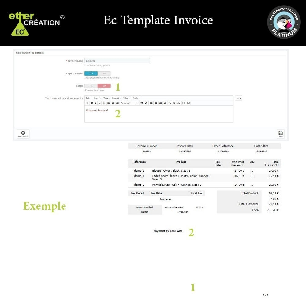 module - Buchhaltung & Rechnung - Manage invoices based on sales sources - 4