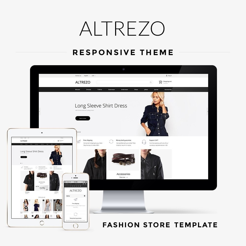 theme - Мода и обувь - Altrezo Fashion Store - 1