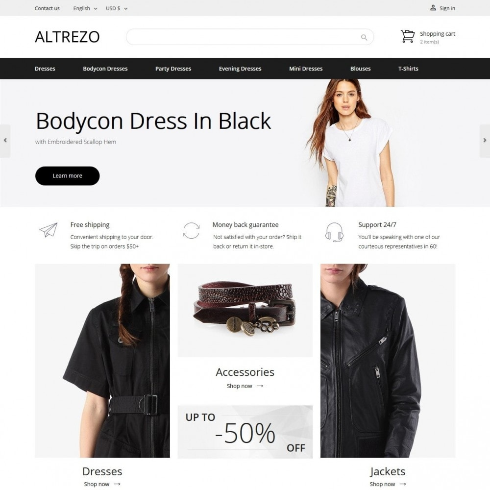 theme - Мода и обувь - Altrezo Fashion Store - 2