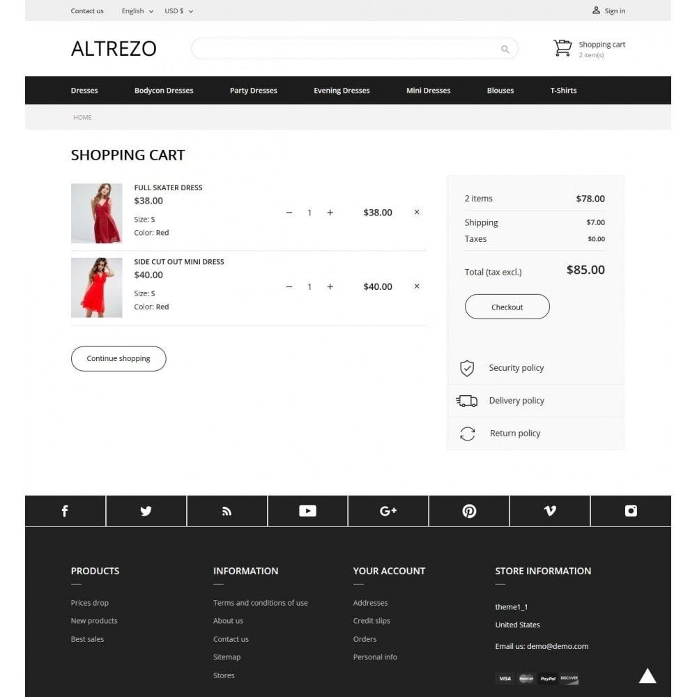theme - Мода и обувь - Altrezo Fashion Store - 7