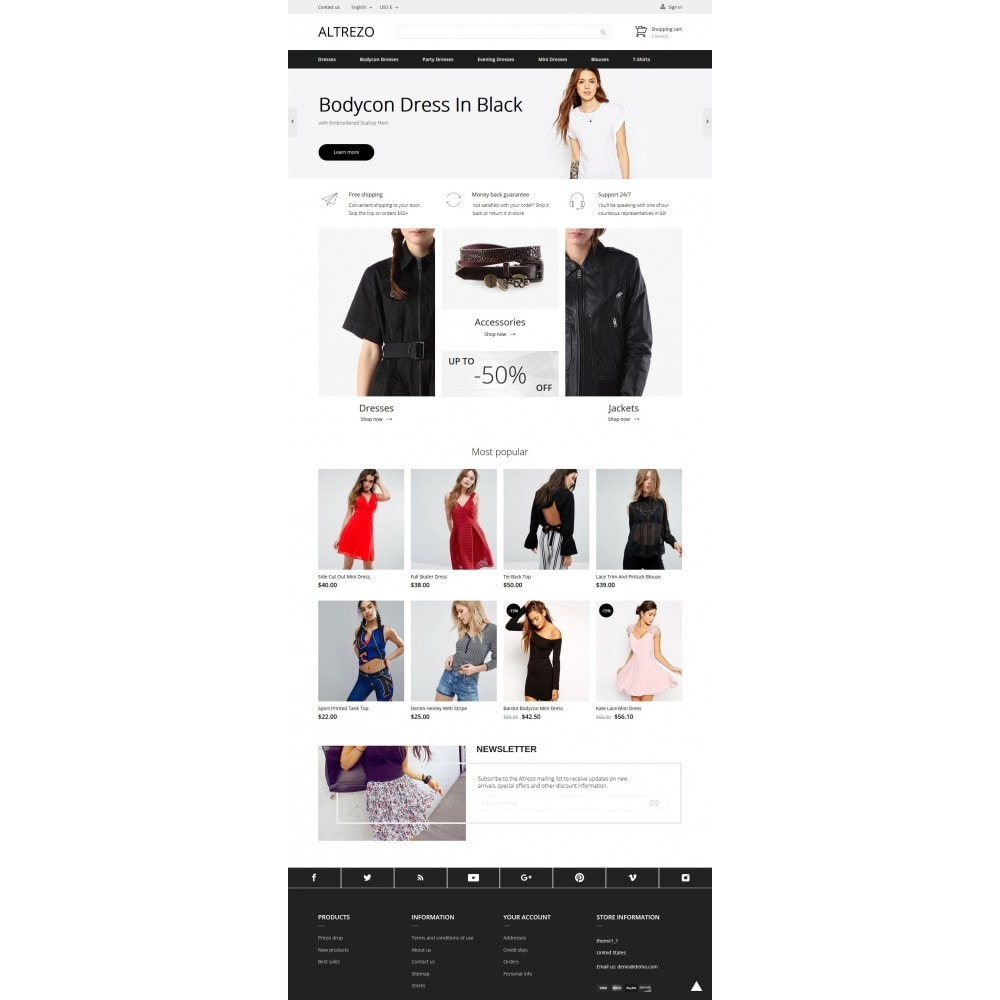 theme - Мода и обувь - Altrezo Fashion Store - 9