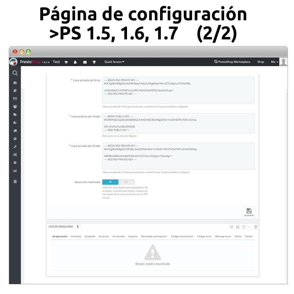 module - Pagamento por cartão ou por carteira - Alignet VPOS secure payment platform - 3