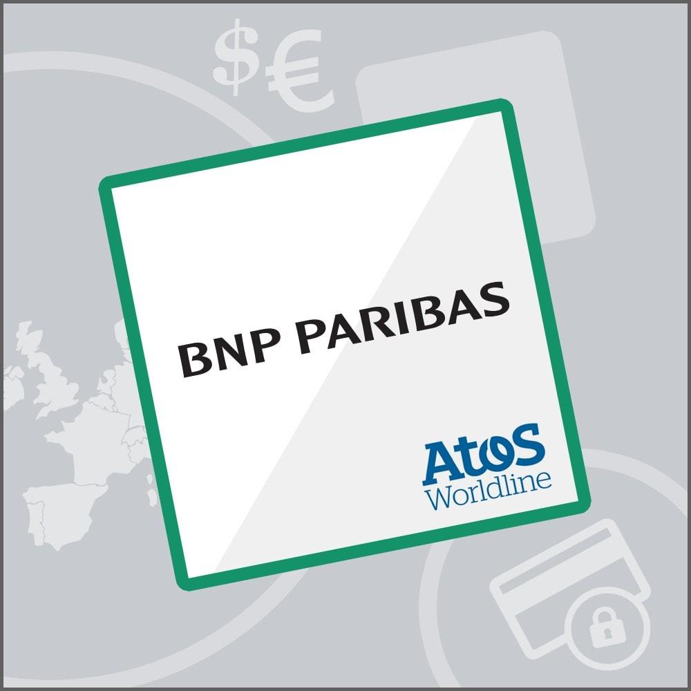module - Pago con Tarjeta o Carteras digitales - Mercanet 1.0 - BNP Paribas Atos Sips Worldline Atos - 1