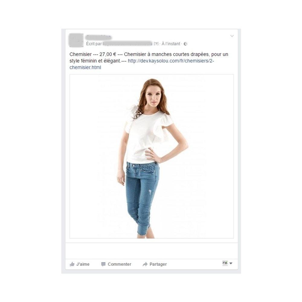 module - Produits sur Facebook & réseaux sociaux - Auto Post Products to Facebook and Twitter Network - 2