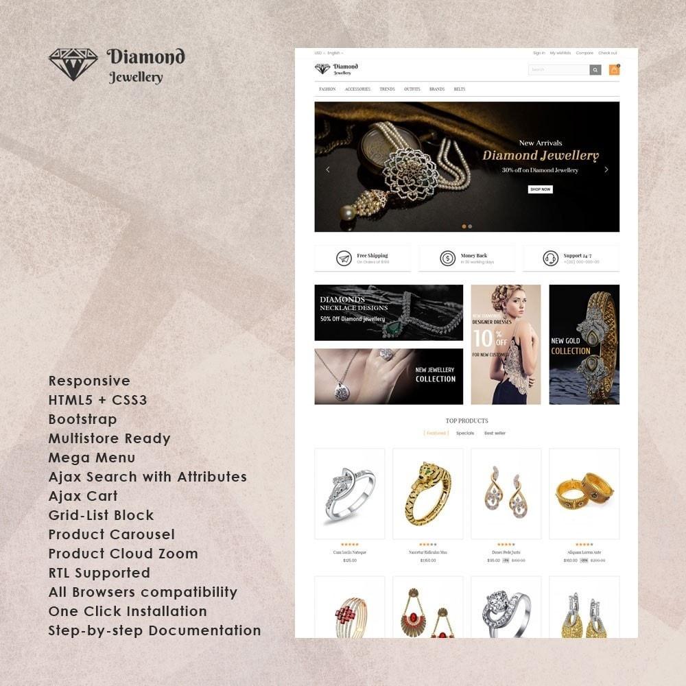 theme - Ювелирные изделия и Аксессуары - Diamond Jewellery Store - 1