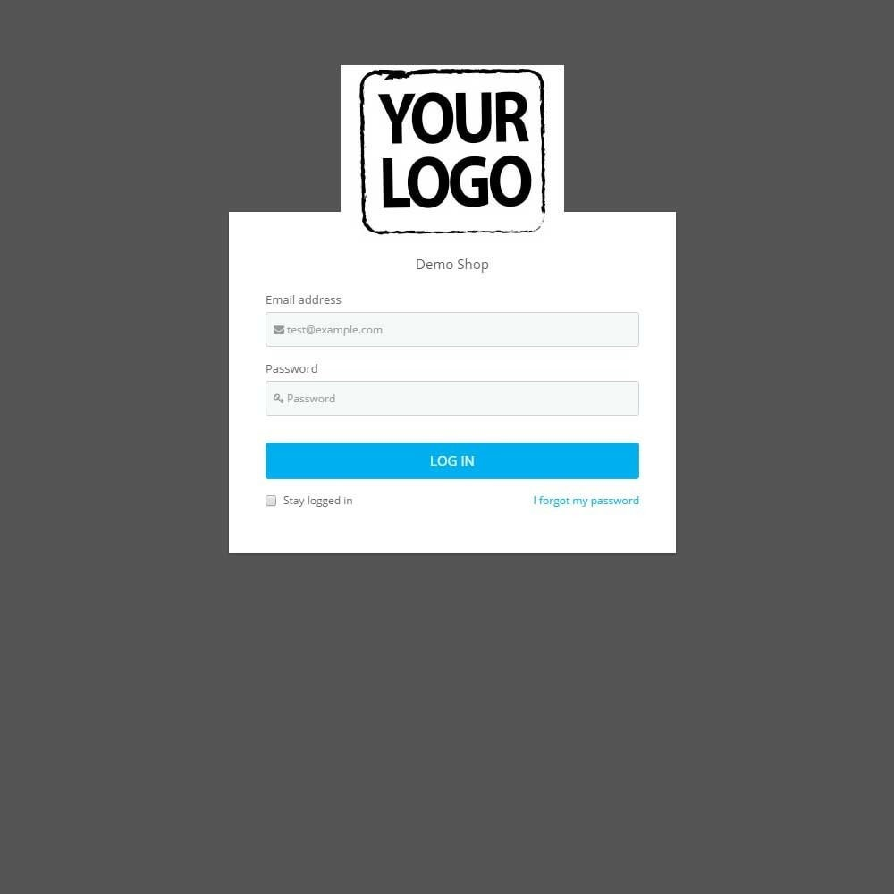 module - Administrationstools - Admin Login Page Customization - 2