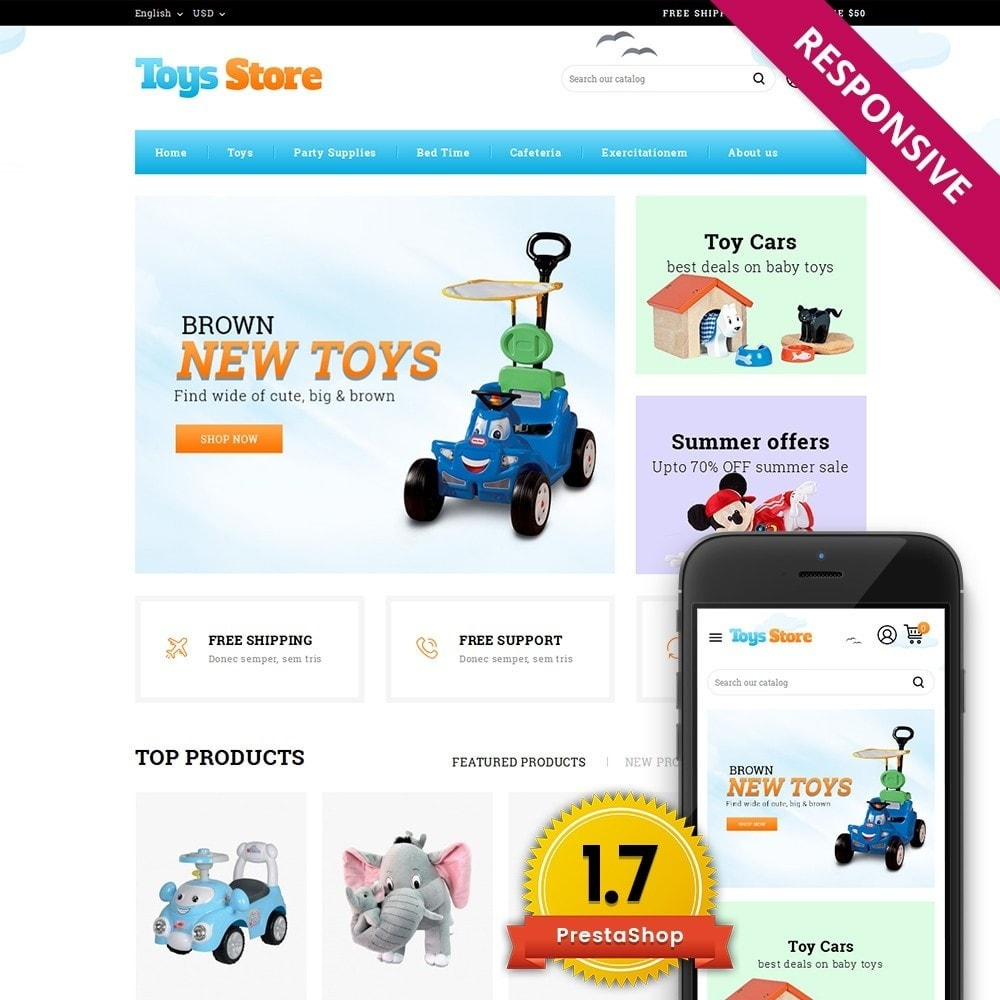 theme - Kinderen & Speelgoed - Toys Online Store - 1
