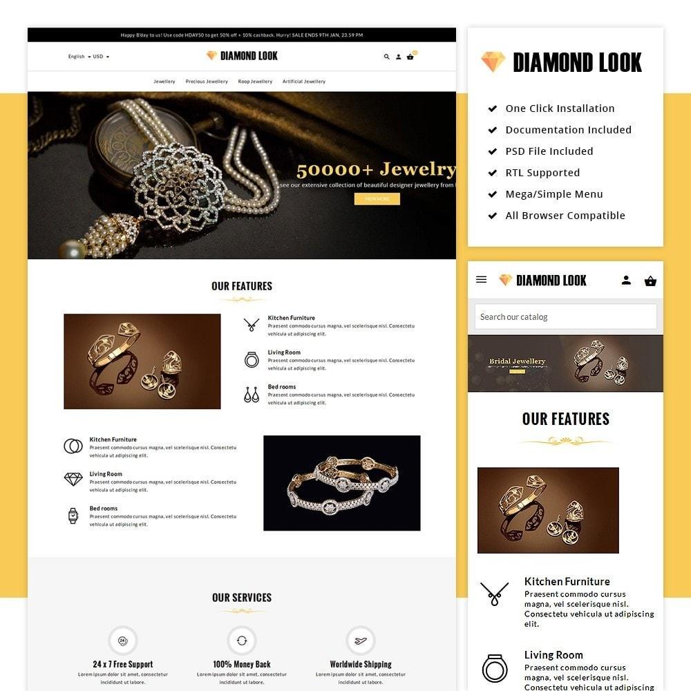 theme - Jewelry & Accessories - Diamond Look Store - 1