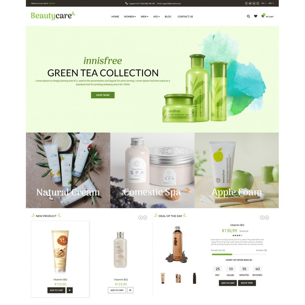 theme - Salud y Belleza - Beauty Care Bio Medical - 2