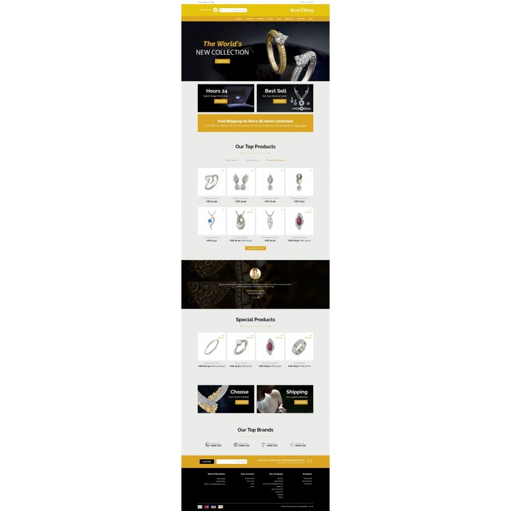 theme - Jewelry & Accessories - Wedding Ring Store - 6
