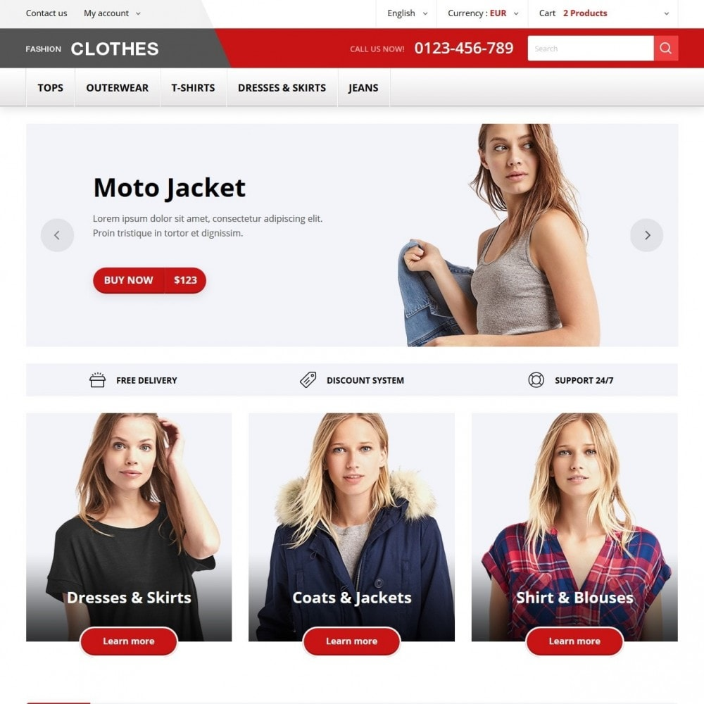 theme - Moda & Calzature - Fashion Clothes - 2