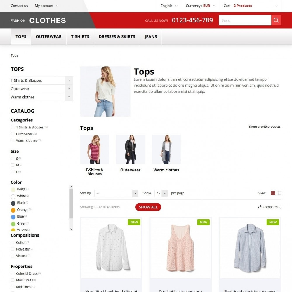 theme - Moda & Calzature - Fashion Clothes - 4