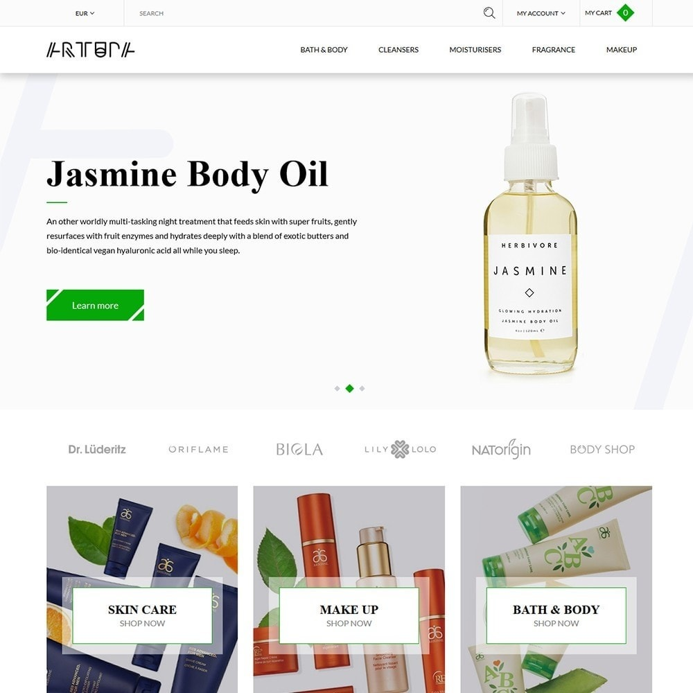 theme - Health & Beauty - Artupa Cosmetics - 2