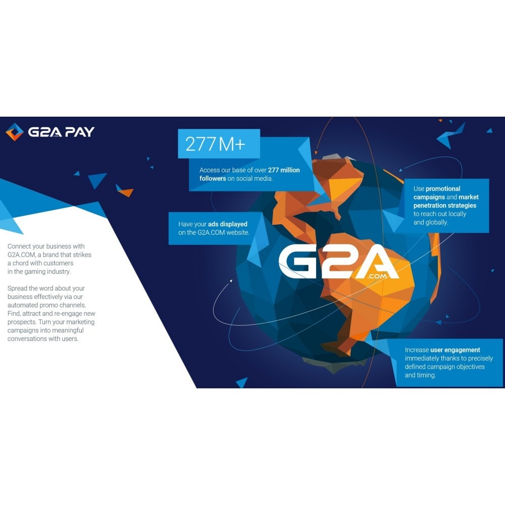 module - Payment by Card or Wallet - G2A PAY - 2
