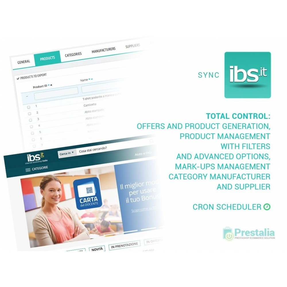 module - Revenda (marketplace) - Sync with IBS.it marketplace - 1