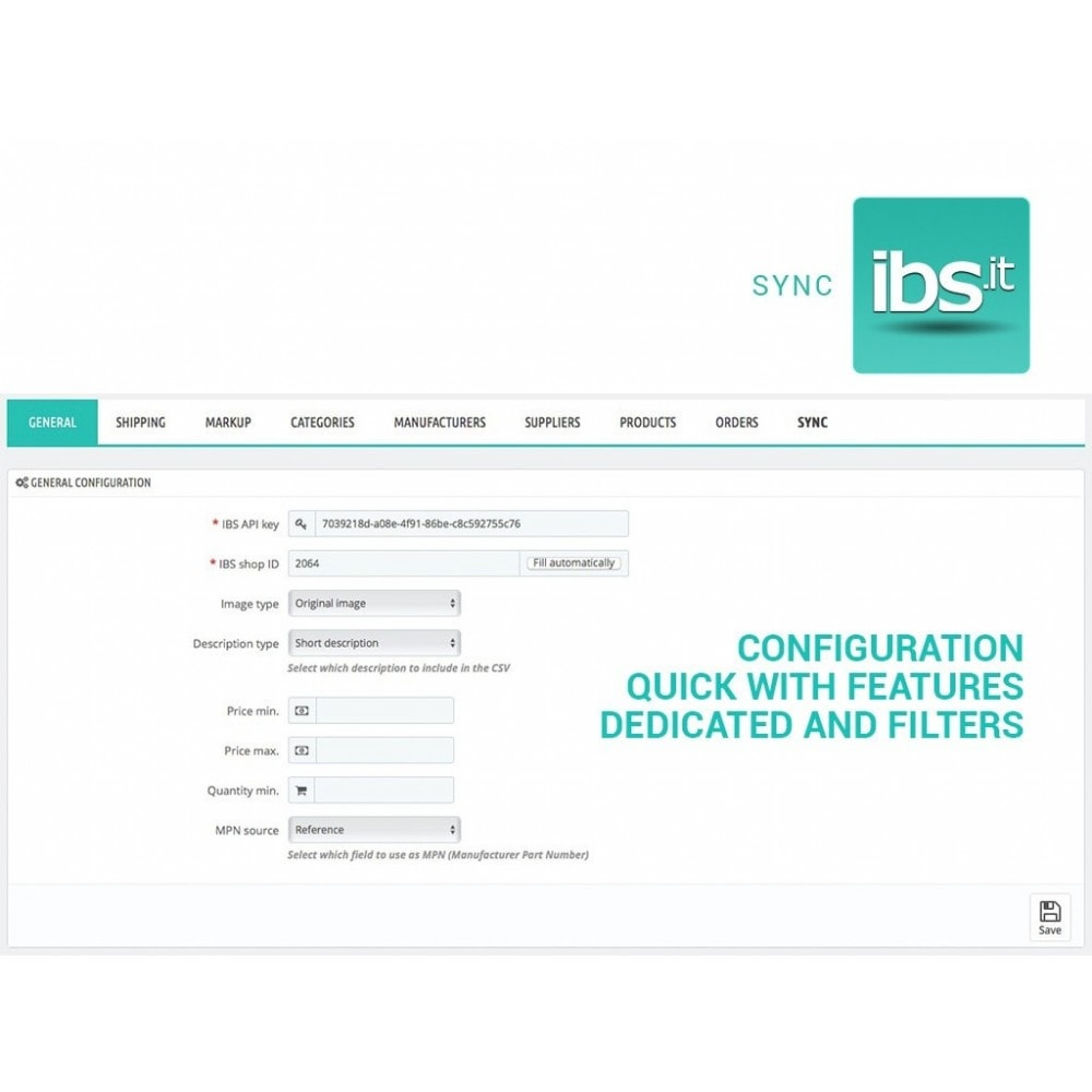 module - Marktplätze - Sync with IBS.it marketplace - 2