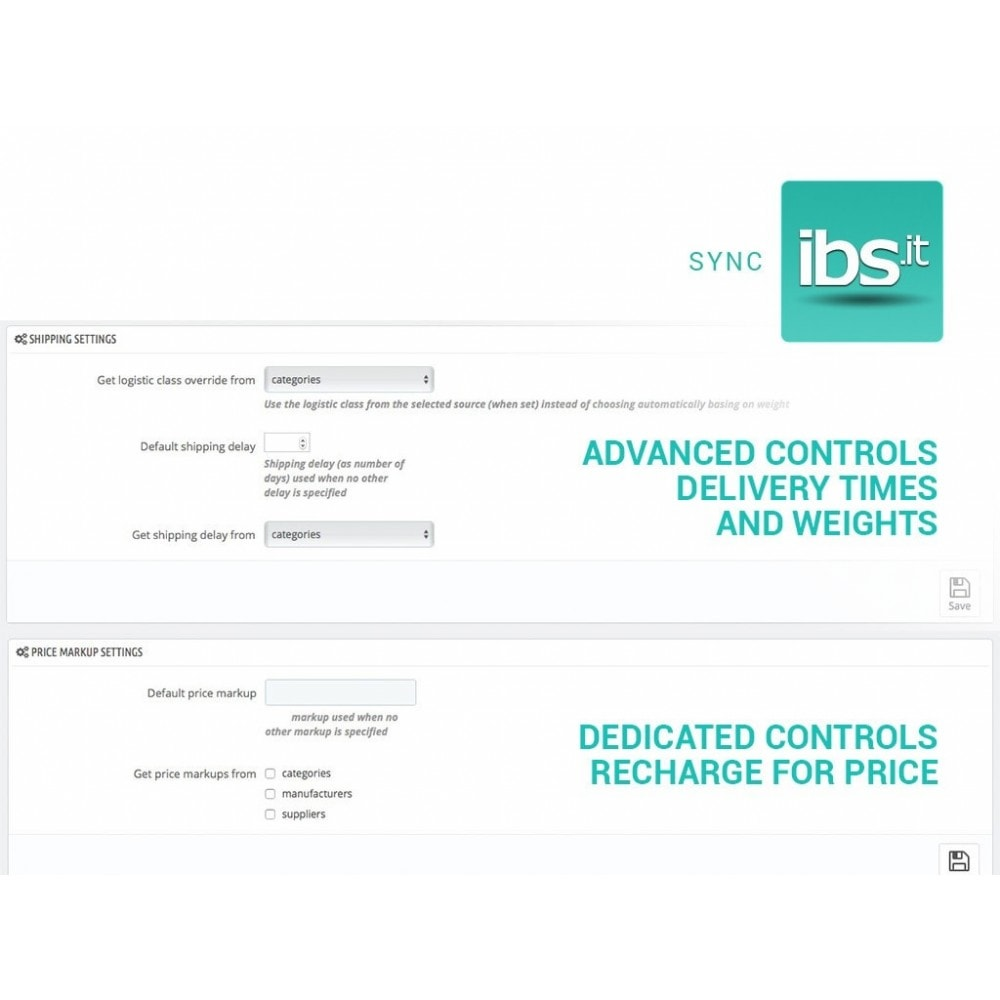 module - Revenda (marketplace) - Sync with IBS.it marketplace - 3