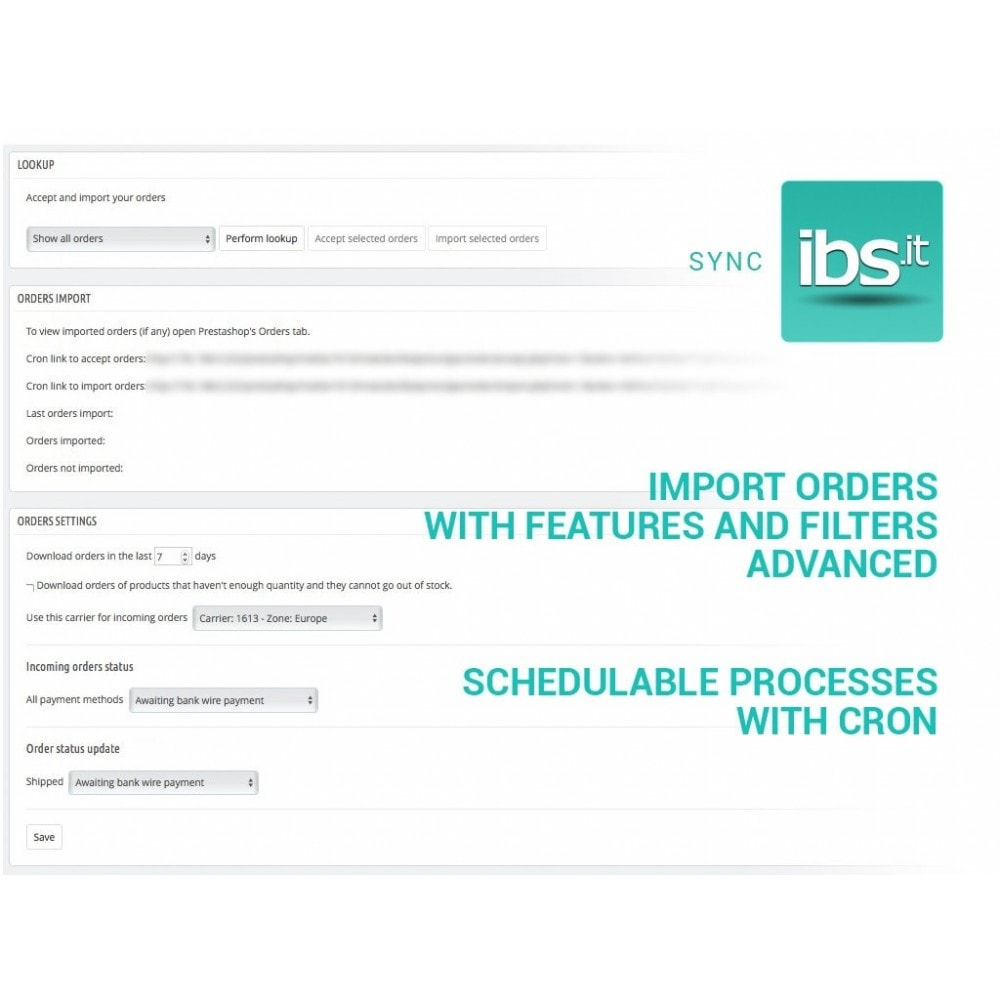 module - Marktplätze - Sync with IBS.it marketplace - 5