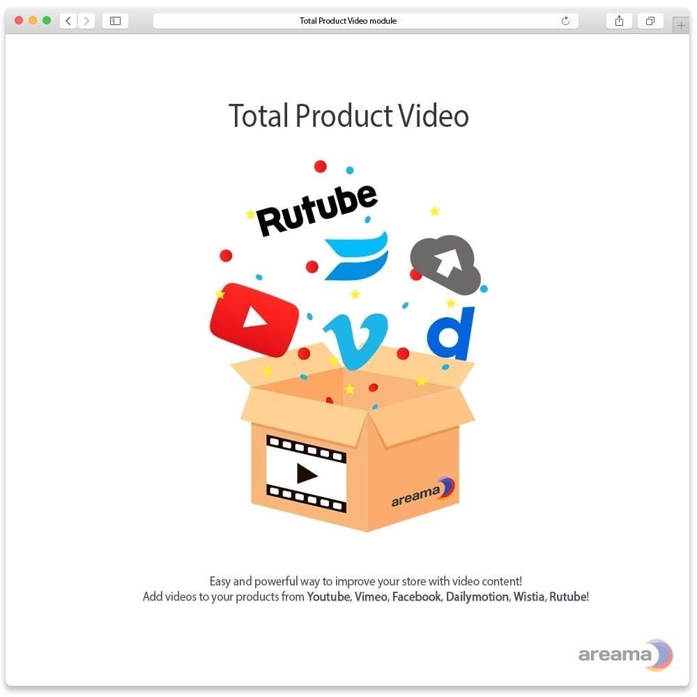 module - Vídeos y Música - Total Product Video - 1